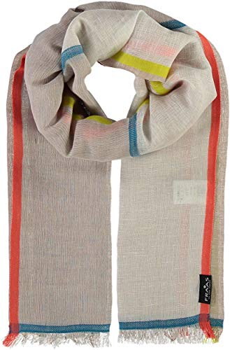 FRAAS Femina Stripes sjaal zomersjaal dames sjaal katoenen sjaal linnen sjaal