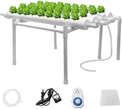 Sidasu Hydroponic Grow Kit 36 Sites 4 Pipes Hydroponic Planting Equipment Ebb and Flow Deep product image