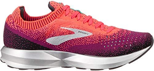 Brooks Levitate 2, Zapatillas de Running para Mujer, (Pink/Black/Aqua 678), 40.5 EU
