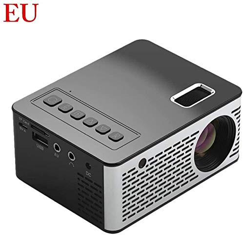 Draagbare Mini Projector Home Theater Cinema Led Lcd Beamer Usb Video voor Draadloos Scherm Spiegelen Display Home Theater Video