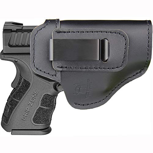 IWB Inside Waistband Holster for Concealed Carry, Fits: XD MOD.2 3″ 3.3″ SUB Compact Model 9mm .40sw .45ACP / XD 3″ / Xdm 3.8″ Compact / XDS 3.3″/ XDE 3.3″ or Similar Sized Pistols