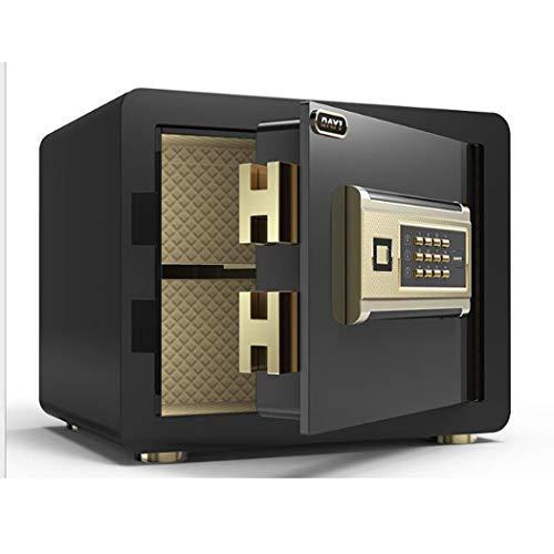 Veiligheid Veilig, High Security Electronic Digital Safe, Wall of kabinet Verankering Ontwerp Steel Alloy kluis met digitaal slot,Black
