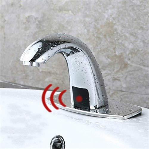 Grifo con sensor táctil automático para baño frío y caliente, ahorro de...
