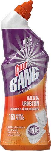 Cillit Bang WC Kraftgel Kalk & Urinstein 15x Power Actions - 6X 750 ml