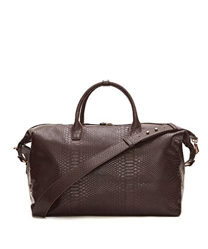 Snakeskin Weekend Bag