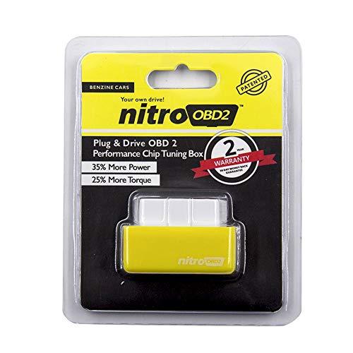 Shoppy Lab Modulo Aggiuntivo Universale Nitro Per Auto Benzina Obd2 Centralina Chip Tuning