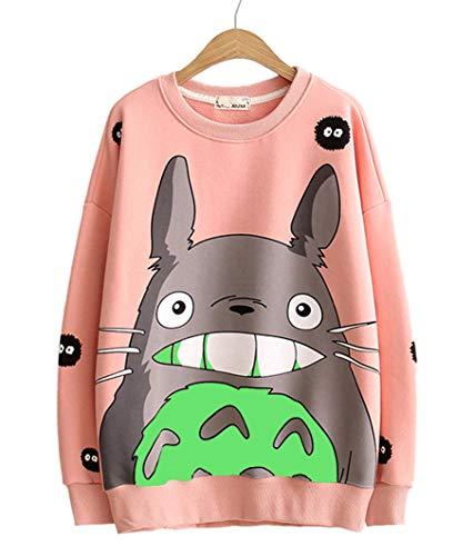 Fashion SH Manga larga, además de terciopelo Totoro...