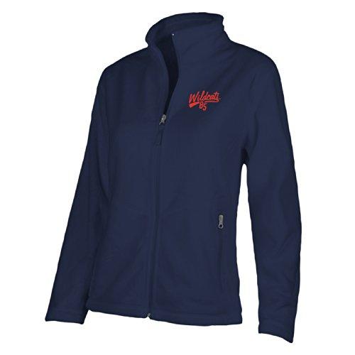 NCAA Arizona Wildcats W Luxe Jacket, Medium, Navy