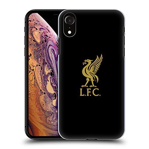 Head Case Designs Offizielle Liverpool Football Club Logo Gold Und Schwarz Liver Bird Harte Rueckseiten Handyhülle Hülle Huelle kompatibel mit Apple iPhone XR