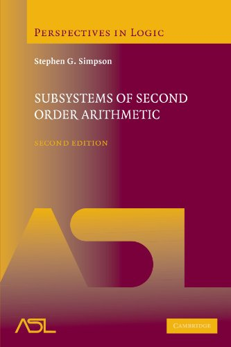 Subsystems of Second Order Arithmetic (Perspectives in Logic)