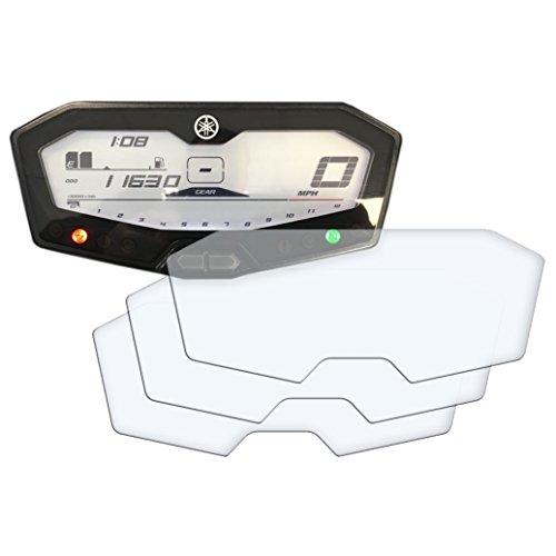 3 x YAMAHA MT-07 / FZ-07/700 Tracer Displayschutzfolie Tachoschutzfolie Screen Protector - Anti-Glare