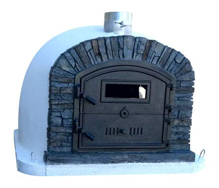 brick oven door - 3
