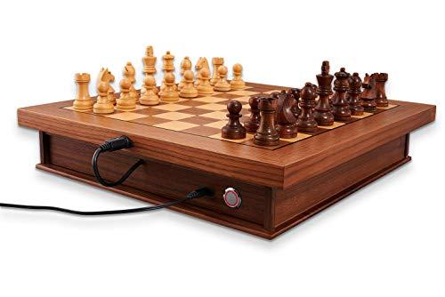 MILLENNIUM Exclusive Luxe Edition Das E-Board Schachbrett der Luxusklasse Schachcomputer M843
