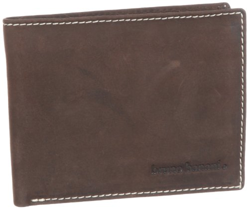 Bruno Banani 16 W 320.105, Unisex - Erwachsene Portemonnaies, Braun (braun), 1x10x11 cm (B x H x T)