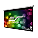 Elite Screens Manual B, 100-INCH 16:9, Manual Pull Down Projector Screen 4K / 8K Ultra HDR 3D Ready with Slow Retract Mechanism, 2-YEAR WARRANTY, M100H (Renewed)