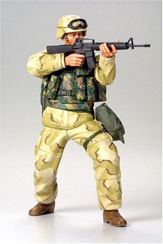 TAMIYA 300036308 - 1:16 Figur US Infantry Soldat Wüsten Uniform