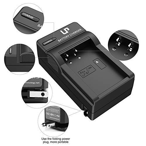 LP-E17 Battery Charger, LP Charger Compatible with Canon EOS Rebel T7i, T6i, T6s, SL3, SL2, 77D, 9000D, 8000D, 800D, 760D, 750D, 200D, M6, M5, M3, Kiss X8i DSLR Cameras & More