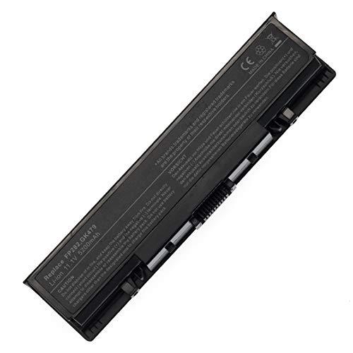 BTMKS Notebook Laptop GK479 FK890 FP282 battery for Dell Inspiron 1520 1521 1720 1721 Vostro 1500 1700 fits W280 0UW280 NR239 312-0589 451-10477 [Li-ion 11.1V 5200mAh 6 Cell]