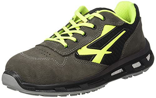 U-Power RL20386, Zapatos de Seguridad Unisex Adulto, Amarillo, 43 EU