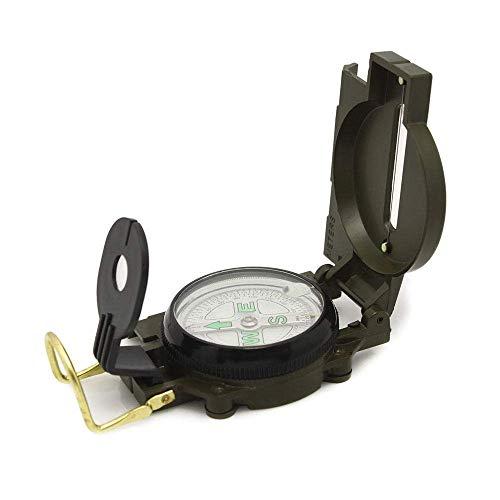 BD.Y Haute qualité Multifonction Portable Boussole étanche Outils de Navigation avec Fluorescent pour la randonnée Camping Escalade Explorer la géologie enseignement des activités de pl