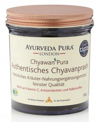 Chyawanprash indisches Amlamus von Ayurveda Pura London 2er Pack (2 x 500g Gläser) – Amla Marmelade Fruchtmus Brotaufstrich Ayurveda Gewürz - Multivitamin Nahrungsergänzung