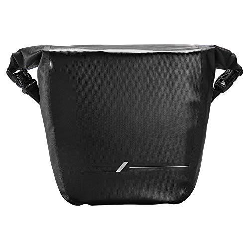YGWE Fahrradträgertasche Mountainbike-Fondtasche Fahrrad Cargo-Tasche Regenfest im Freienrucksack Reitausrüstung Fahrradkoffer Kofferraum (Color : Black, Size : 22X15X30CM)