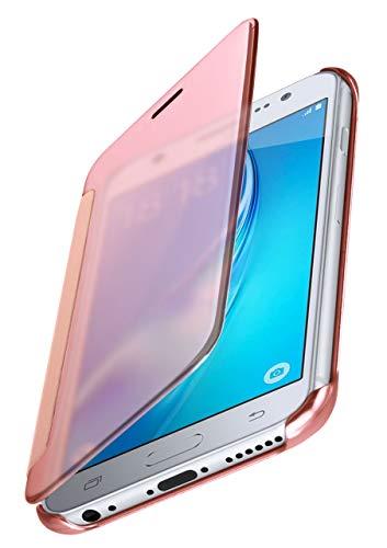 MoEx® Funda Protectora Fina Compatible con Samsung Galaxy J5 (2016) | Cristal...