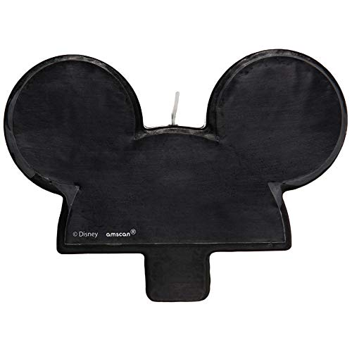 Mickey Mouse Birthday Candle | Black | Decoration | 1 Pc.