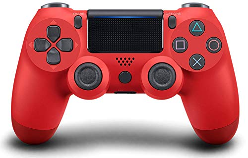 Controlador PS4, Gamepads inalámbricos para juegos Bluetooth Joysticks Touch Pad de alta precisión, para Playstation 4 / Pro / Slim / PC Laptop