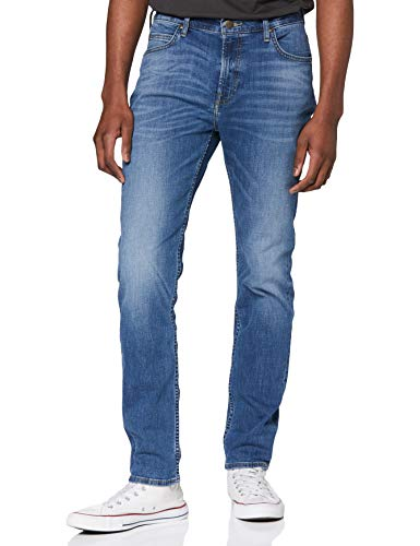Lee Rider Contrast Jeans Vaqueros, Mid Visual Cody, 40W / 34L para Hombre