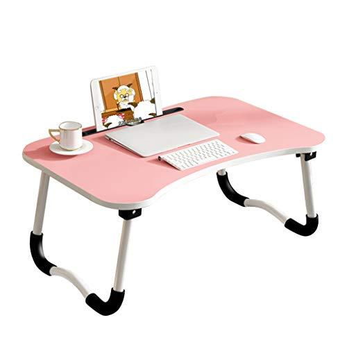 Klaptafel voor computer, inklapbaar, voor bank, bureau, laptop, met kaartsleuf, antislip, laptop, voor bank, bureau