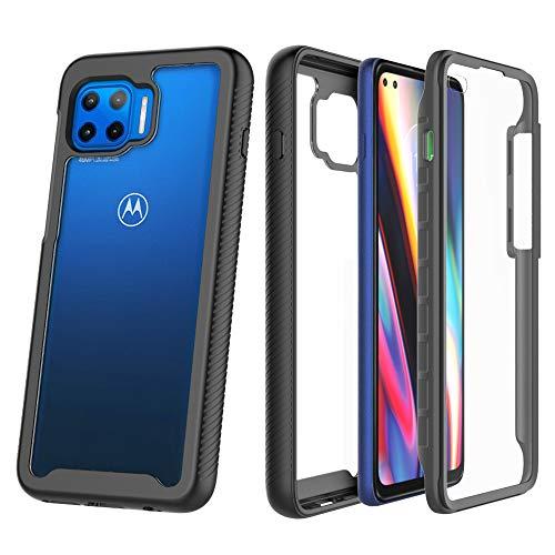ZHXMALL Funda para Motorola Moto G 5G Plus Case,360 Grados C