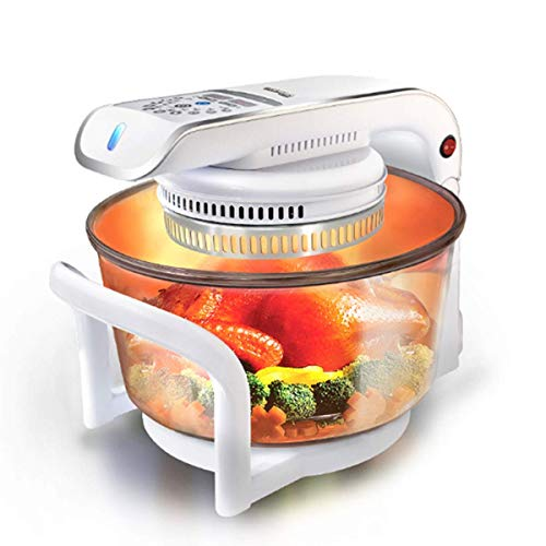 1yess 17L Air Fryer 1300W,Oil-Free Healthy Cooking with Time And Temperature Control,Can Be Used for Frying Barbecue Baking Halogen Heating