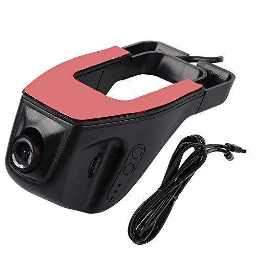 KIMISS Dash Cam, videocamera per auto USB Car DVR Videoregistratore HD 1080P Dash Camera G-Sensor per Android