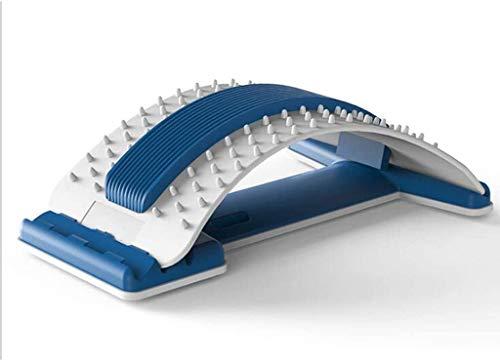 LIIYANN Trage Lendenmassagegerät Elastisches Massagegerät Lendenmassage Lendenwirbelstütze Entspannung Entspannung Rückenschmerzen Schmerzlinderung Akupunktmassagekissen Home Office
