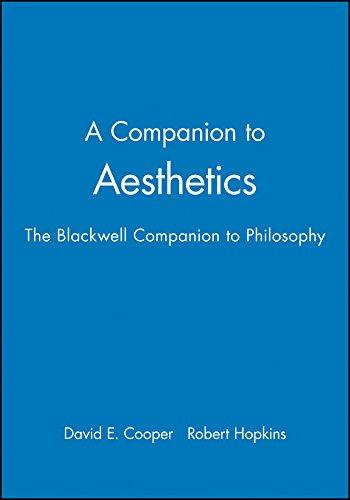 A Companion to Aesthetics: The Blackwell Companion to Philosophy (Blackwell Companions to Philosophy)