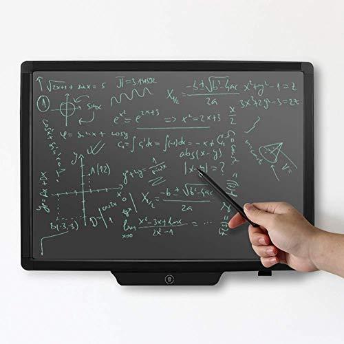 AILSAYA groot scherm Lcd schrijfbord, 20 Inch Elektronische Lcd Handschrift Tablet Tekening Board Met één klik Deletion Board Voor Volwassenen/kinderen Memo Lijst Handgeschilderde Board, Licht Energie Blackboard