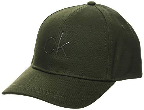 Calvin Klein Cap Gorro/Sombrero, Verde Oliva Oscuro, Taille Unique para Hombre