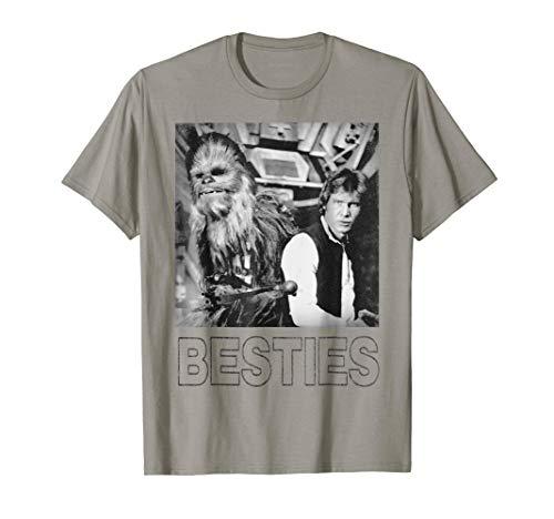 Star Wars Han Solo Chewbacca Besties Graphic T-Shirt