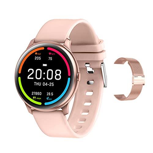 YDZ KW13 Smartwatch IP68 IP68 Monitor De Ritmo Cardíaco A Prueba De Agua Pulsera Deportiva Natación Fitness Smart Watch Hombres Conectan Android iOS,C