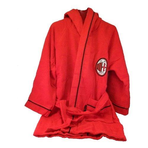 Milan 9634 030 2110 Accappatoio, 100% Cotone, Rosso, 12-14 Anni