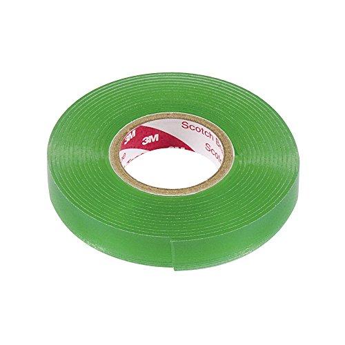 エーモン 超強力両面テープ (クリアパーツ・ガラス面などに) 車内・車外兼用 透明 幅10mm×長さ2m×厚さ1mm 3928