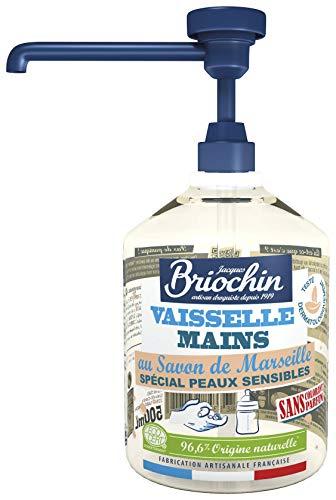 Jacques Briochin Líquido Vajilla Manos Especial Pieles Sensibles Ecocert 500 ml