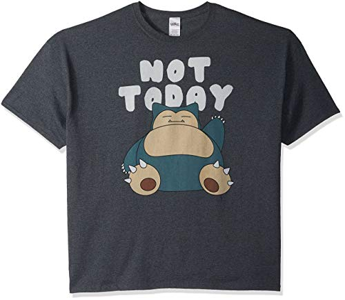 Pokemon Men's Snorlax Not Today T-S…