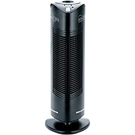 Envion - ionic pro ca200, compact air purifier tower for rooms up to 200 sq. Ft. (black) 1 ionic purification: this room air purifier sanitizes and removes 99. 9% of airborne allergens, irritants, and pollutants in your whole home - plus it destroys cold & flu viruses, mold spores, and staph and strep bacteria. Silent operation: this quality air cleaner destroys airborne germs and odors without any ambient noise. Easy to use in any room in the house, including the baby's nursery without disturbing their sleep. Compact design: the sophisticated standing tower design is small and compact enough to make it portable and easy to move from room to room. The one-touch operation with push-button ease saves time and effort.