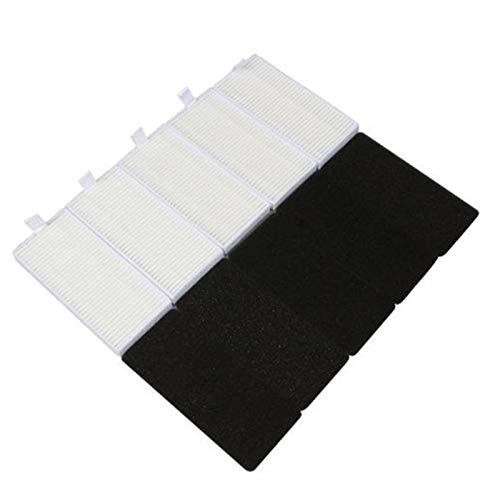 IUCVOXCVB Accesorios de aspiradora 6 unids Laterales Laterales Kit Mop Paño Filtro Spon Fit para Ikohs NetBot S15 Robot Robot Aspiradora Parte Accesorio Casero Limpieza Polvo Limpieza (Color : C)