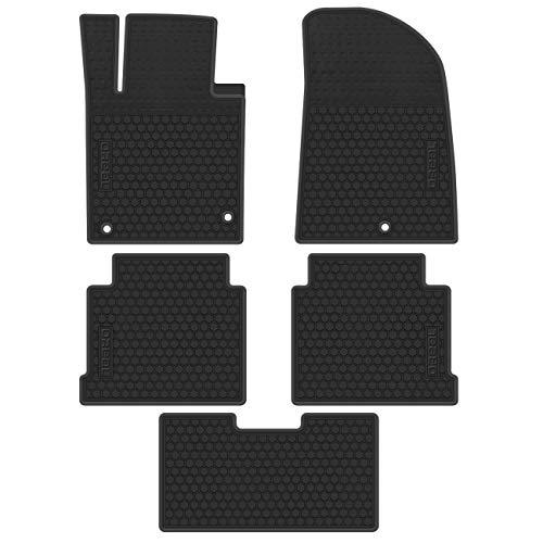 biosp Car Rear Trunk Mat Cargo Liner for Jeep Renegade 2015 2016 2017 2018 2019 All Weather Full Black Heavy Duty Rubber Custom Fit-Waterproof-Odorless