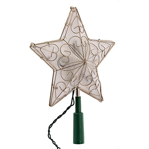 Kurt Adler 10 Light Indoor UL Star Treetop