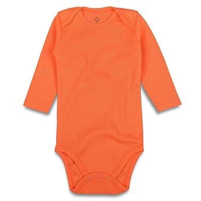 orange onesie baby