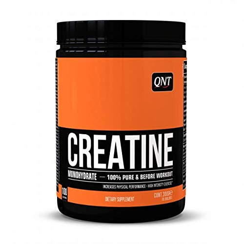 Qnt Creatine Monohydrate, Unflavored, 0.3 kg